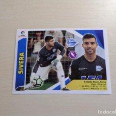 Cromos de Fútbol: LIGA ESTE 2017 2018 17 18 PANINI. SIVERA Nº 2 (ALAVÉS) CROMO FÚTBOL. Lote 101335500