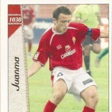 Cromos de Fútbol: 2006-2007 - 1038 JUANMA - REAL MURCIA - MUNDICROMO LAS FICHAS DE LA LIGA. Lote 98875887