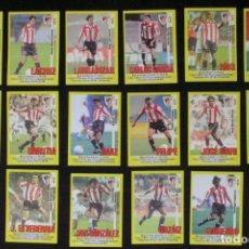 Cromos de Fútbol: 18 CROMOS ATHLETIC CLUB - LIGA 1999-2000 - PANINI SPORTS. Lote 98889275