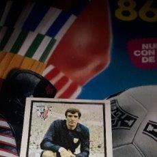Cromos de Fútbol: IRIBAR EN VERSION CLARA DE LA LIGA 1972-73 DE FHER. Lote 99091491