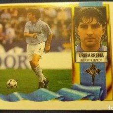 Cromos de Fútbol: 95/96 ESTE. NUNCA PEGADO BAJA CELTA DE VIGO URIBARRENA. Lote 99098503