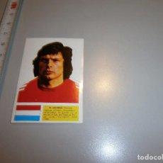 Cromos de Fútbol: CROMO ALBUM X CAMPEONATOS MUNDIALES FUTBOL MUNICH 74 PROMO PREMIUM TULICREM SIN PEGAR. Lote 99127607