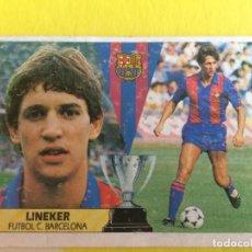 Cromos de Fútbol: LINEKER 87-88. Lote 99227175