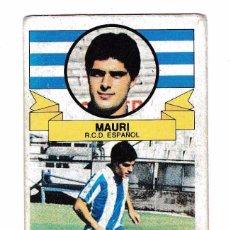 Cromos de Fútbol: CROMO MAURI BAJA EDICIONES ESTE 85/86 NUNCA PEGADO 85-86. Lote 99829211