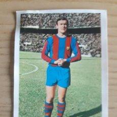 Cromos de Fútbol: FÚTBOL FHER 1968 1969 CROMO DESPEGADO Nº 14 BARCELONA C.F. ZALDUA. Lote 99998075