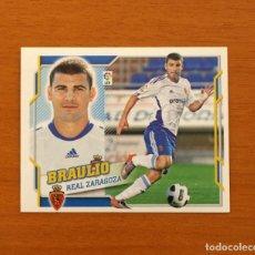 Cromos de Fútbol: ZARAGOZA - BRAULIO - COLOCA, Nº 14 B - LIGA 2010-2011, 10-11 - EDICIONES ESTE - NUNCA PEGADO. Lote 206962071
