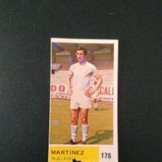 Cromos de Fútbol: ANTIGUO CROMO CAMPEONATOS NACIONALES DE FUTBOL 1976 - 1977 NÚMERO 176 - MARTINEZ (CELTA DE VIGO). Lote 100089447