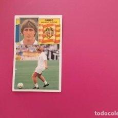 Cromos de Fútbol: ESTE 90/91 / NANDO / VALENCIA / DESPEGADO/ . Lote 100160703