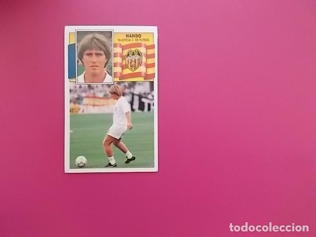 ESTE 90/91 / NANDO / VALENCIA / DESPEGADO/ (Coleccionismo Deportivo - Álbumes y Cromos de Deportes - Cromos de Fútbol)