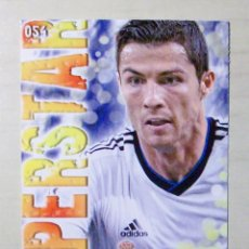 Figurine di Calcio: 54 CRISTIANO SUPERSTAR REAL MADRID MUNDICROMO 2013 2014 13 14. Lote 204324183