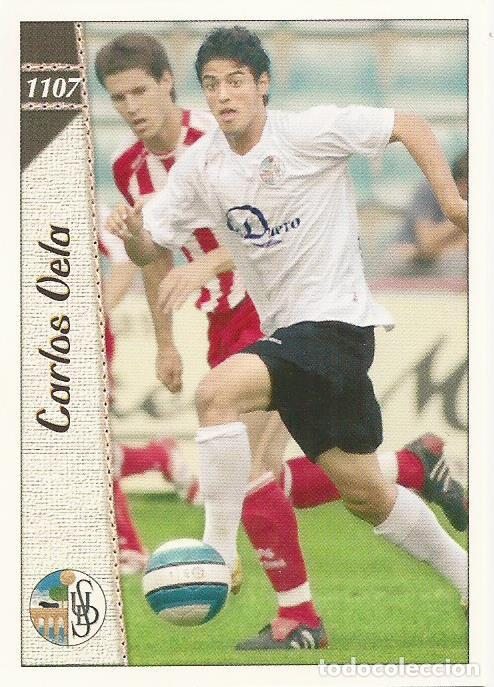 Rookie Card 372 Carlos Vela Liga Mundicromo 2007 Cromo tarjeta Novato osasuna MC