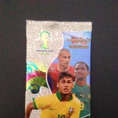 Cromos de Fútbol: SOBRE DE CROMOS SIN ABRIR ADRENALYN XL MUNDIAL BRASIL 2014 - NEYMAR (BRASIL), ETO'O (CAMERUN).... Lote 100394943