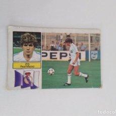 Cromos de Fútbol: CROMO LIGA 82-83 EDICIONES ESTE REAL MADRID: ITO. Lote 100400503