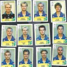 Cromos de Fútbol: 8317A- 16 CROMOS EURO 2000 PANINI -SELECCION DE SUECIA. Lote 100737003