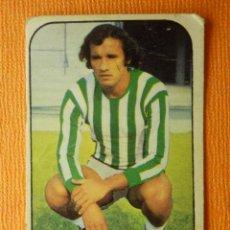 Cromos de Fútbol: CROMO - FUTBOL - LIGA 1976 / 77 - REAL BETIS - MENDIETA - EDICIONES ESTE - 76 /1977 - RECUPERADO. Lote 101072291