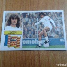 Cromos de Fútbol: KEMPES -- VALENCIA -- FICHAJE Nº 10 -- 82/83 -- ESTE -- RECUPERADO. Lote 101103639
