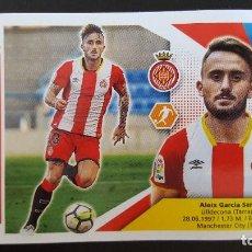 Cromos de Fútbol: EDICIONES ESTE LIGA 2017 2018 17-18 ALEIX GARCIA GIRONA F.C. . Lote 101194463