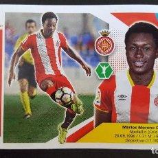Cromos de Fútbol: EDICIONES ESTE LIGA 2017 2018 17-18 MARLOS MORENO GIRONA F.C. . Lote 101194547