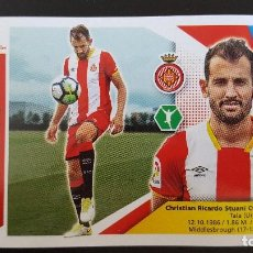 Cromos de Fútbol: EDICIONES ESTE LIGA 2017 2018 17-18 STUANI GIRONA F.C. . Lote 101194707