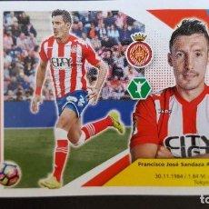 Cromos de Fútbol: EDICIONES ESTE LIGA 2017 2018 17-18 SANDAZA GIRONA F.C. . Lote 101194767