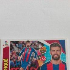 Cromos de Fútbol: CROMO COLECCIONES ESTE, TEMPORADA 2017/18. FC.BARCELONA. JUGADOR: PIQUÉ. Lote 101195059