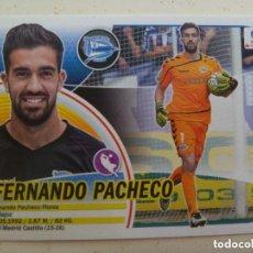 Cromos de Fútbol: EDICIONES ESTE. LIGA 2016-17. FUTBOLERO Nº 1: FERNANDO PACHECO, DEPORTIVO ALAVÉS.. Lote 101196443