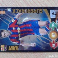 Cromos de Fútbol: ADRENALYN XL SUPERCRACK XAVI F.C. BARCELONA CROMOS ALBUM LIGA 2009-2010 PANINI. Lote 101198663