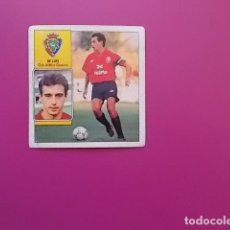 Cromos de Fútbol: ESTE/ 92/93 / DE LUIS / OSASUNA / NUNCA PEGADO. Lote 101513531