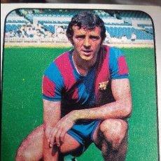 Cromos de Fútbol: DE LA CRUZ - F.C. BARCELONA - 1978 1979 ED. ESTE LIGA 78 79 CROMO NUNCA PEGADO. Lote 101579631