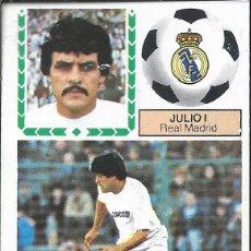 Cromos de Fútbol: 9446- CROMO DESPEGADOS LIGA ESTE 83-84 -JULIO I (REAL MADRID)-ULTIMO FICHAJE Nº 4. Lote 156995313