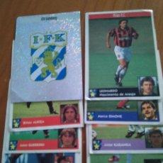 Cromos de Fútbol: LOTE 10 CROMOS LOS MEJORES EQUIPOS DE EUROPA PANINI 97 98 ESTAMPAS PEGATINAS 1997 1998. Lote 101641515