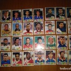 Cromos de Fútbol: LOTE 44 CROMOS (32 DISTINTOS) FRANCE 98 1998 WORLD CUP - SERENISNIMA DANONE PANINI. Lote 101649571