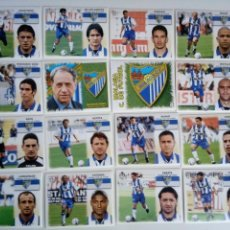 Cromos de Fútbol: LOTE 16 CROMOS MÁLAGA LIGA ESTE 1999 - 2000. Lote 101730463