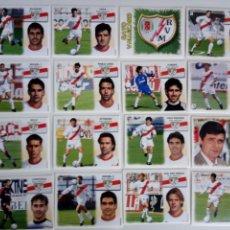 Cromos de Fútbol: LOTE 16 CROMOS RAYO VALLECANO LIGA ESTE 1999 - 2000. Lote 101730955