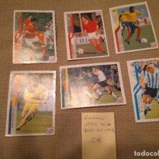 Cromos de Fútbol: LOTE 6 CROMOS UPPER DECK FUTBOL MUNDIAL ESTADOS UNIDOS 94 - WORLD CUP USA 1994 ALBUM. Lote 101785367