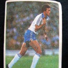 Cromos de Fútbol: FUTBOL 84 CROMOS CANO - NUNCA PEGADO -NUEVO -TOTO- REAL ZARAGOZA. Lote 101837171