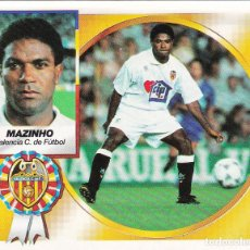 Cromos de Fútbol: ESTE 94-95 MAZINHO DEL VALENCIA COLOCA MUY DIFICIL EN VENTANILLA. Lote 101986211