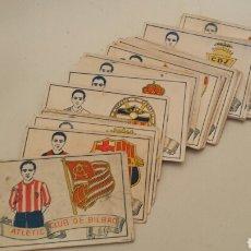 Cromos de Fútbol: COLECCION COMPLETA 50 CROMOS CHOCOLATES FUTBOL DE 1929 CHOCOLATE AMATLLER. Lote 102344304