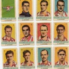 Cromos de Fútbol: AT AVIACION,TEMPORADA 1944-45, DE CONDMENTOS SALSAFRAN, DE NOVELDA ALICANTE. Lote 102377279
