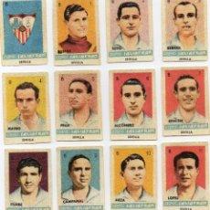 Cromos de Fútbol: SEVILLA, TEMPORADA 1944-45 DE CONDIMENTOS SALSAFRAN, DE NOVELDA ALICANTE. Lote 102378123