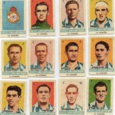 Cromos de Fútbol: LA CORUÑA, TEMPORADA 1944-45, DE CONDIMENTOS SALSAFRAN, DE NOVELDA ALICANTE. Lote 102378555