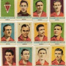 Cromos de Fútbol: MURCIA,TEMPORADA 1944-45, DE AZAFRAN SALSAFRAN, DE NOVELDA ALICANTE. Lote 102380667