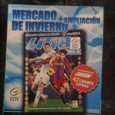 Cromos de Fútbol: ALBUM 2011-12 ESTE 11-12 CASI TODA LA COLECCIÓN COMPLETA SIN PEGAR Y TODO EL MERCADO DE INVIERNO.. Lote 102394979