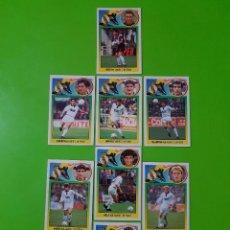 Cromos de Fútbol: LOTE DE 10 CROMOS DEL REAL MADRID DE LA TEMPORADA 93/94 1993/1994 NUNCA PEGADOS. Lote 102479203