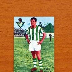 Cromos de Fútbol: BETIS - LANDA - CROMO DOBLE DE ESTA TEMPORADA - EDITORIAL FHER 1967-1968, 67-68 . Lote 102564519