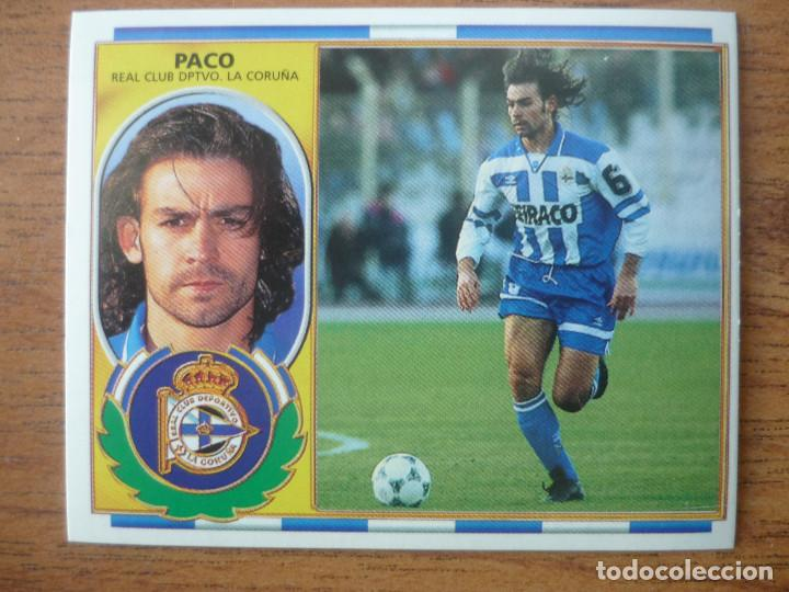 Cromos de Fútbol: CROMO LIGA ESTE 96 97 PACO JEMEZ (DEPORTIVO CORUÑA) - NUNCA PEGADO - 1996 1997 - Foto 1 - 102631323