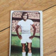 Cromos de Fútbol: CJ CROMO LIGA ESTE 77 78 1977 1978 STIELIKE REAL MADRID FICHAJE 14. Lote 102643343