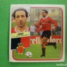 Cromos de Fútbol: CROMO - FUTBOL - AMER - MALLORCA - EDICIONES ESTE - LIGA 89-90 - 1989-1990 - NUNCA PEGADO. Lote 102749959