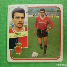 Cromos de Fútbol: CROMO - FUTBOL - CRESPI - MALLORCA - EDICIONES ESTE - LIGA 89-90 - 1989-1990 - NUNCA PEGADO. Lote 102749975