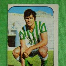 Cromos de Fútbol: CROMO - FUTBOL - BIOSCA - BETIS - EDICIONES ESTE - LIGA 76-77 - 1976-1977 - RECUPERADO. Lote 102790043